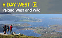 6 Day West tour of Ireland with walking & active Adventure Tours with Wolfhound Adventure Tours