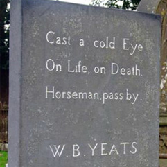 Headstone of W.B. Yeats